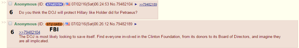 FBI Anon on 4chan – Just the Q&A (Exposes The Entire Government